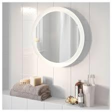 ikea bathroom mirror light storjorm mirror with integrated lighting white 47 cm ikea