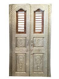 vintage antique doors white metal architecture india panel unique