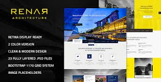 architecture layout design psd renar premium architect psd template by andig themeforest