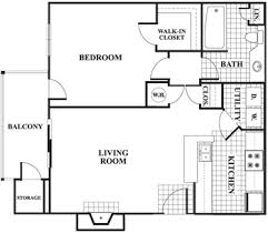 large one bedroom floor plans stunning one bedroom apartment layout gallery interior design