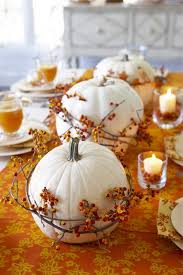 pumpkin centerpieces for thanksgiving think white 10 stylish