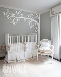 Tree Wall Decals For Nursery White Tree Wall Decal Nursery Wall Decoration Tree Wall