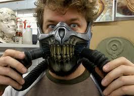 Mad Max Halloween Costume Immortan Joe Mask Diy Version Pvc Face Mad Max 4 Fury Road