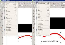 can u0027t overprint bitmap coreldraw x4 coreldraw graphics suite