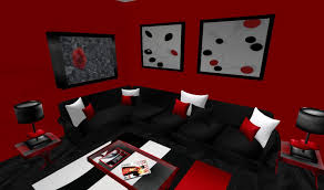 Red White And Black Rug Red White And Black Living Room Ideas Classic Glass Wall Mount Tv