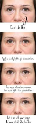 great tips for reducing covering puffy eyes