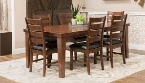 dining room home zone furniture dining room furniture paul bunyan ii table 4 chairs
