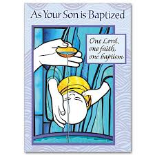 one lord one faith one baptism baptism card for