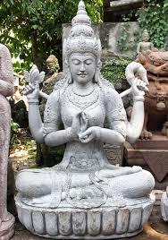 dharmachakra lakshmi garden statue 61 95ls4 hindu gods