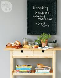 chalkboard ideas for kitchen how to a restaurant style chalkboard style at home