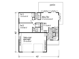One Car Garage Apartment Plans 96 Best Floor Plans Images On Pinterest Square Feet Dream House