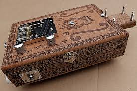 engraved box handmade engraved 6 string cigar box guitar opening fits reverb