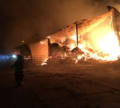 hay barn destroyed in fire at ridgefield dairy complex the columbian