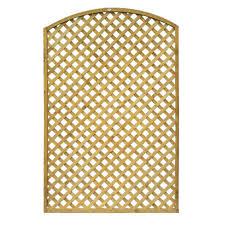 grange alderley dome wooden lattice trellis panel 1 93m internet
