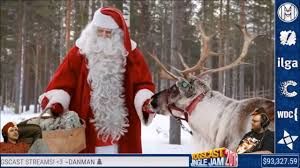 yogscast lewis and simon watch reindeer of santa claus in lapland