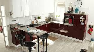 meuble snack cuisine table haute avec rangement pour cuisine apsect interieur du bar