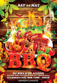 barbecue flyer by styleflyers on deviantart