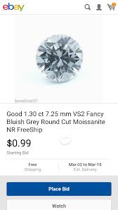 Bluish Grey Anyone See A Grey Moissanite Weddingbee