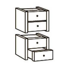 bloc tiroir pour bureau bloc de 4 tiroirs pour bibliothèque colonne de bureau maxiburo