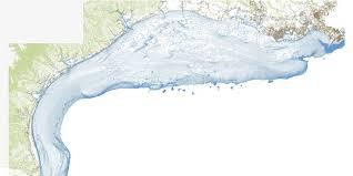 Texas Coast Map Bathymetry Tx La Coast V0 1 Tnris Texas Natural Resources