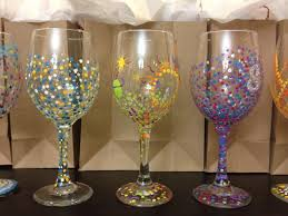 class wine glass painting paint inspirationpaint inspiration