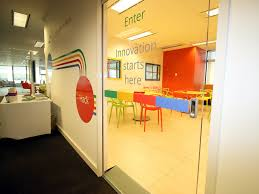 google interior design google for work innovation lab pwc sydney 2016 proj x design