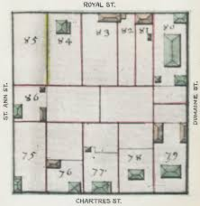 prevost floor plans the collins c diboll vieux carré survey property info