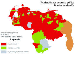 Map Of Venezuela Venezuelan Elections A Victory For The Psuv A Warning For The