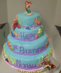 tasty pastry cakes and more little mermaid