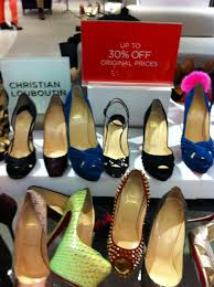 nyc saks fifth avenue chanel and louboutin winter 2012 sale the