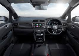 nissan van interior nissan leaf 2018 review parkers