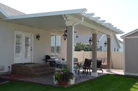 Stucco Patio Cover Designs Deluxe Solid Patio Cover Gallery Warburton S Inc Jardinería