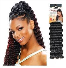 crochet braid hair model model soft curl 20 crochet braid