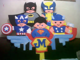 Superhero Photo Booth Superhero Theme Table Centerpiece Ideas With Welcome Signage And