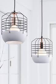 mod white cage lamp home decor lighting lamp light me up
