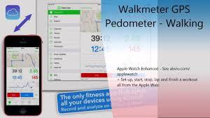 Pedometer Map Walkmeter Gps Pedometer Walking Running Hiking For Weight Loss