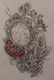 Best 25 Victorian Frame Tattoos Ideas On Pinterest Cameo Frame