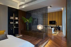 bedroom space ideas interior design ideas use a screen as a room divider in a small