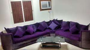Purple Table L Living Room Style L Shaped Sofa Ikea Silver Coast Company
