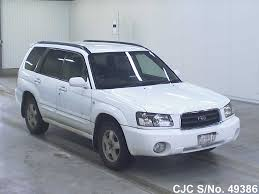 blue subaru forester 2003 2003 subaru forester white for sale stock no 49386 japanese