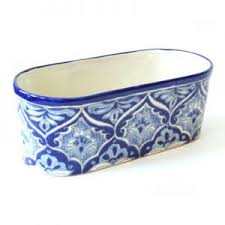 blue and white planter archives emilia ceramics