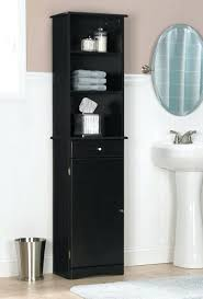 tall skinny storage cabinet tall narrow storage cabinet linen with her bath tower oak