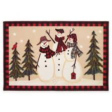 Snowman Curtains Kitchen Saturday Knight Snowman Land Kitchen Curtain
