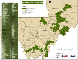 Map Of Mali Agriculture And Food Security Mali U S Agency For