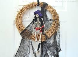 Easy Diy Halloween Wreaths by Easy Halloween Wreath