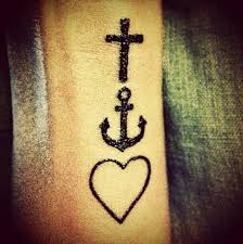 faith hope love tattoo love it faith hope love symbolic
