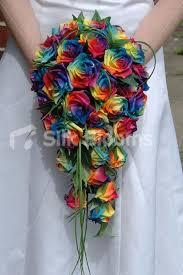 wedding flowers glasgow rainbow bouquet wedding rainbows wedding and