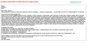 Hotel Desk Clerk Job Description Part Time Hotel Jobs Security Guards Companies