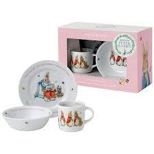rabbit nursery set by wedgwood beatrix potter rabbit wedgwood flopsy mopsy and cotton 3