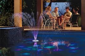 Floating Pool Light Amazon Com Game 3588 Aquajet Swimming Pool Light Show And